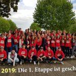 Sandhäuser Abiturienten feierten Teil I es Abitures mit Grillfest