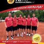 Tennis Club Sandhausen: Saisonauftakt nach Maß - Morgen Derby gegen Leimen