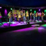 Rockband der Otto-Graf-Realschule spielte auf der Explore Science 2019
