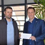 Nußlocher Materialseilbahnfreunde spendeten 500,- Euro an Kinderhilfsfonds