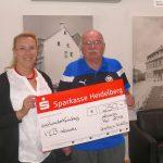 Sparkasse spendet 250,- € für den VfB-Jugendförderkreis