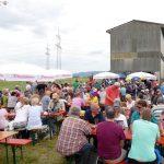 Tolles Strangfest der Sandhäuser FDP – Wetter war wichtiger als Wahl