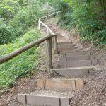 Nußlocher Gemeindewald: Himmelsleiter wieder begehbar