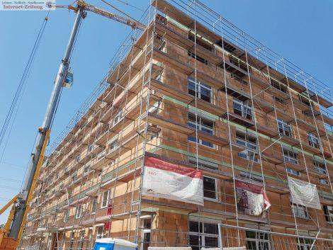Neubau des großen Seniorenwohn- und Pflegezentrums bald vollendet