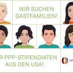 Gastfamilien für amerikanische AustauschschülerInnen gesucht
