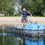 Alle neun Badeseen im Rhein-Neckar-Kreis mit  hygienisch einwandfreier Wasserqualität