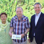 Oberbürgermeister Reinwald gratulierte Stadtrat Werner Lindner zum 70.Geburtstag