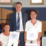 Nußloch ehrte die verdienten Gemeinderätinnen Ingrid Schulze und Susanne Wenz