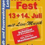 Musikfest der SFK Leimen am kommenden Wochenende