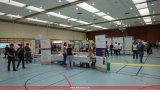 DRK sicherte Berufsmesse in Leimen ab