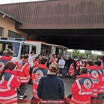 DRK Aufbauübung Gerätewagen Sanität