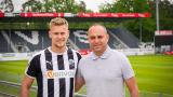 Julius Biada vom 1. FC Kaiserslautern wechselt zu SV Sandhausen