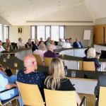 Partnerschaft Gauangelloch-Cernay-lès-Reims: Delegation in Leimen empfangen