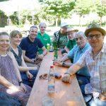 GALL/Grüne feierten 25 Jahre und 25 % mit Sommerparty im Menzerpark