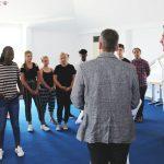 Otto-Graf-Realschüler im Campus Leimen empfangen - Vorbildliche Friedensarbeit