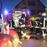 Zimmerbrand in Nußloch konnte glücklicherweise rasch gelöscht werden