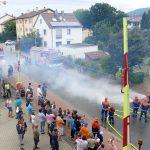 Leimener Jugendfeuerwehr stark und effektiv bei der Brandbekämpfung