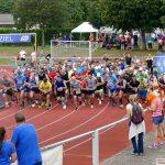 282 Teilnehmer beim Nußlocher Wiesenlauf - Bürgermeister Förster flott unterwegs