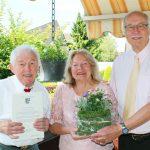 Sieglinde Maria und Hans Jochen Winkler feiern diamantenen 60.Hochzeitstag