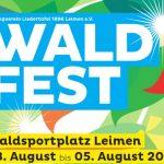 Waldfest der Liedertafel Sandhausen vom 3.-5. August
