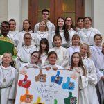 """Katholische Kirche Leimen: </br>Acht neue """"Volltreffer Gottes"""" in Herz-Jesu"""