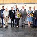 Kreisdezernenten Christoph Schauder und Dr. Dieter Münch verabschiedet