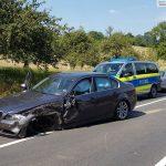 Zwischen Lingental und Gaiberg: Verkehrsunfall - hoher Sachschaden, vier Leichtverletzte