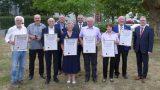 Bürgermeister Georg Kletti ehrte verdiente Sandhäuser Gemeinderäte