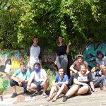 Grafitti-Sprayer riefen Ordnungsamt auf den Plan – Doch diese Künstler durften sprayen