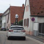 Bitte lächeln! Apple-Maps Fahrzeuge weiter hier in der Gegend unterwegs