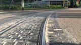 Teilsperrung der Straßenbahnstrecke in Leimen ab Moltkestraße wegen Gleisschäden –