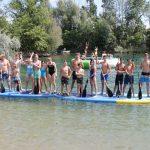 SK Neptun Jugend hatte viel Spaß beim Wasserski, Kneeboard und Monsterboard