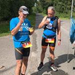 Deutschlandlauf: 2. Etappe über 88 Kilomenter nach 12:49 h geschafft
