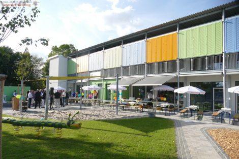 Kindertagesstätte Abendteuerland in Sandhausen eingeweiht – 3,8 Mio. € Baukosten