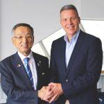Japanische Delegation aus Yamanashi zu Besuch in Leimen