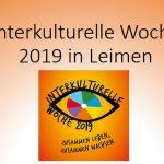Interkulturelle Woche Leimen 2019