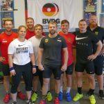 Gewichtheber-Nationalmannschaft im Leimener Trainingslager vor WM in Pattaya