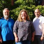 Kath. Seelsorgeteam personell durch Kooperator Hipp und Gemeindereferentin Ziegler ergänzt