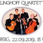 """""""Musikalische Kostbarkeiten"""" im Rosensaal Leimen mit dem Klinghoff-Quartett"""