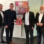 Herzsicheres Nußloch: Zwei zusätzliche Defibrillatoren installiert