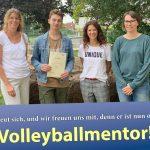 Fr.-Ebert-Gymnasium: Max Degraf (10c) ist neuer Volleyballmentor