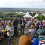 Goldener Herbst am Feiertag: Proppenvoller Weinberg im Kreuzgewann