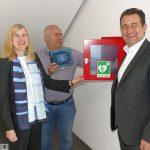Weiterer Automatisierter externer Defibrillator in Leimen: Standort Stadtwerke