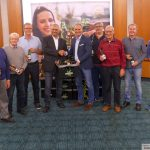 Weldes Kerwebier 2019 mit Sandhäuser Aromahopfen im Rathaus präsentiert