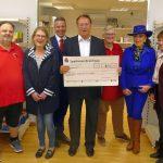Lions Club spendet 2.000,- € für die Leimener Tafel und Sandhäuser AWO Lädle
