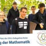 Matheteam des Fr.-Ebert-Gymnasiums beim Tag der Mathematik in Heidelberg
