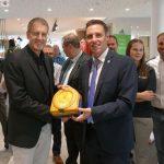 20 zusätzliche Defibrillatoren - Bürgermeister Förster dankt teilnehmenden Unternehmen