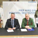 30.000 Euro für den Spiegelsaal im Leimener Rathaus von Denkmalstiftung BaWü