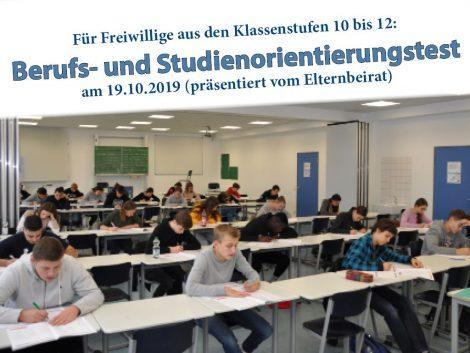 Studien- und Berufsorientierungstest am Friedrich-Ebert-Gymnasium
