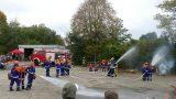 Feuerwehr und DRK Nußloch bewiesen bei  Hauptübung die Breite ihres Könnens